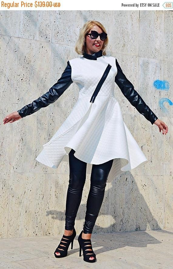 SALE 15% OFF Extravagant White Jacket White Neoprene Jacket https://www.etsy.com/listing/549466829/sale-15-off-extravagant-white-jacket?utm_campaign=crowdfire&utm_content=crowdfire&utm_medium=social&utm_source=pinterest