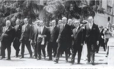 Presidente della Repubblica Saragat a Benevento 1967