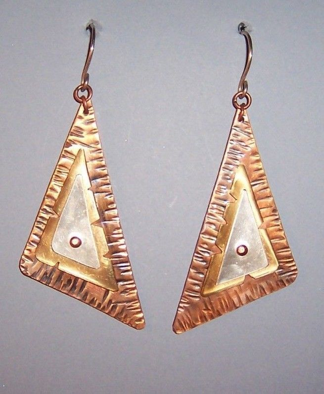 9 best Copper Earrings images on Pinterest | Copper earrings ...