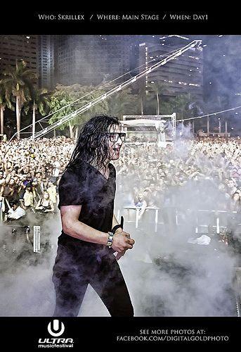 Ultra Music Festival 2012 - Skrillex