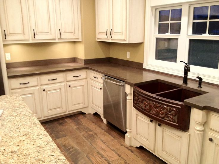 Concrete Countertops & Backsplash