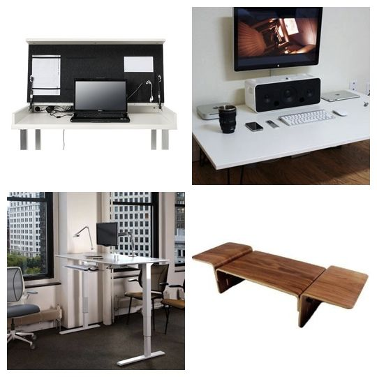 6 Alternatives to a Traditional Desk (via @Apartment Therapy)
