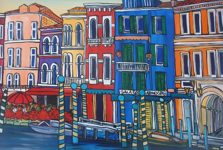 Venice by Rachel Jemmett at Art Box Gallery