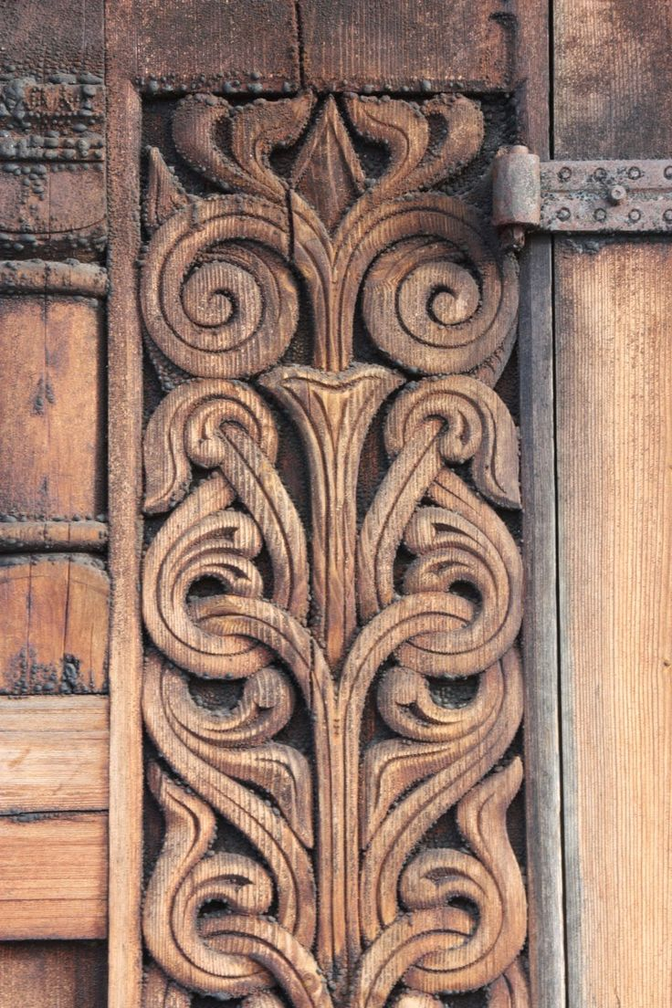 Hos Jorunn - would be beautiful door panels