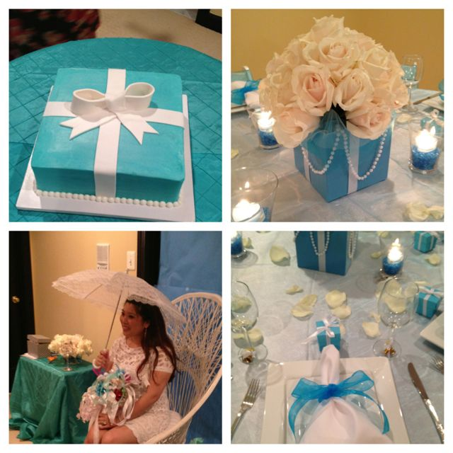 Tiffany's theme bridal shower