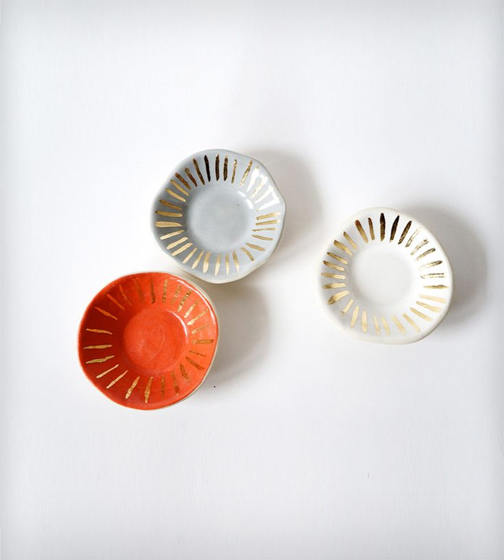 Tiny Porcelain Ring Dishes