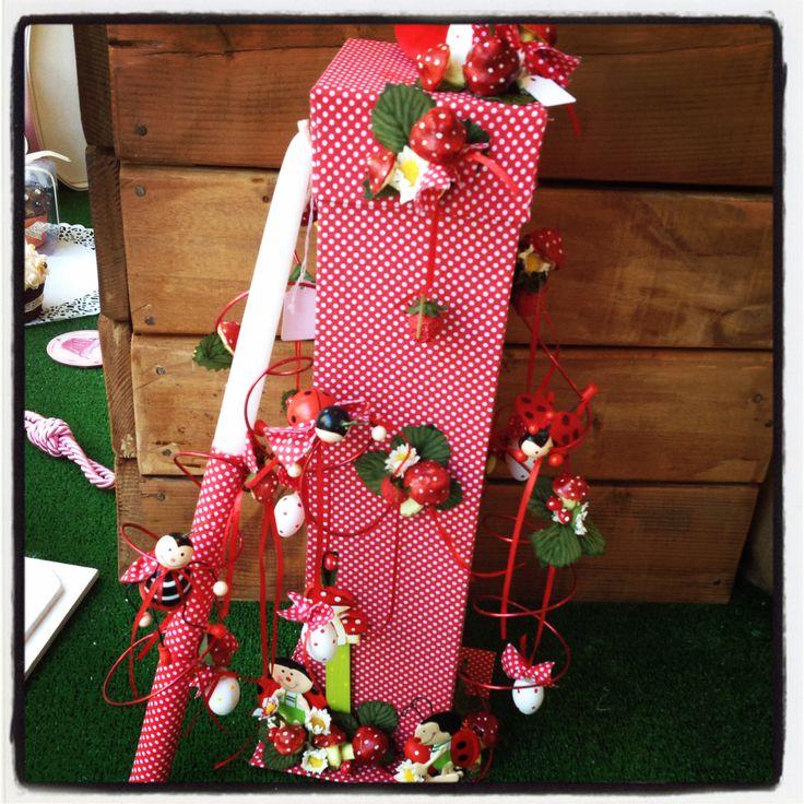 Πασχαλινό κουτί υφασμάτινο με πασχαλίτσες! www.nikolas-ker.gr