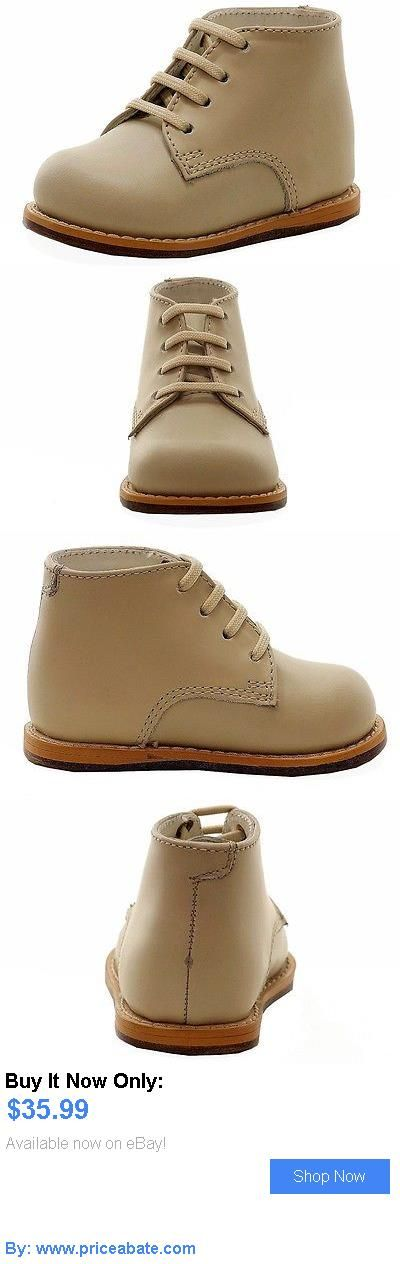 Baby Boy Shoes: Josmo Infant Boys First Walker Fashion Beige Leather Lace Up Oxford Shoes BUY IT NOW ONLY: $35.99 #priceabateBabyBoyShoes OR #priceabate