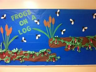 This Frog on a Log! - Spring Bulletin Board Idea is just one of our many bulletin board ideas. We have thousands of fun and unique teaching ideas that are great for the classroom and at home!