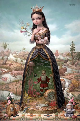 I have this print in cards!! So beautiful  Mark Ryden - Taringa!