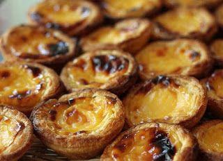 un mondo di ricette cucina portoghese pasteis de nata