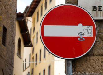 Znaki Florencji - Zakaz wjazdu pod karą zapuszkowania (2014-07-06)