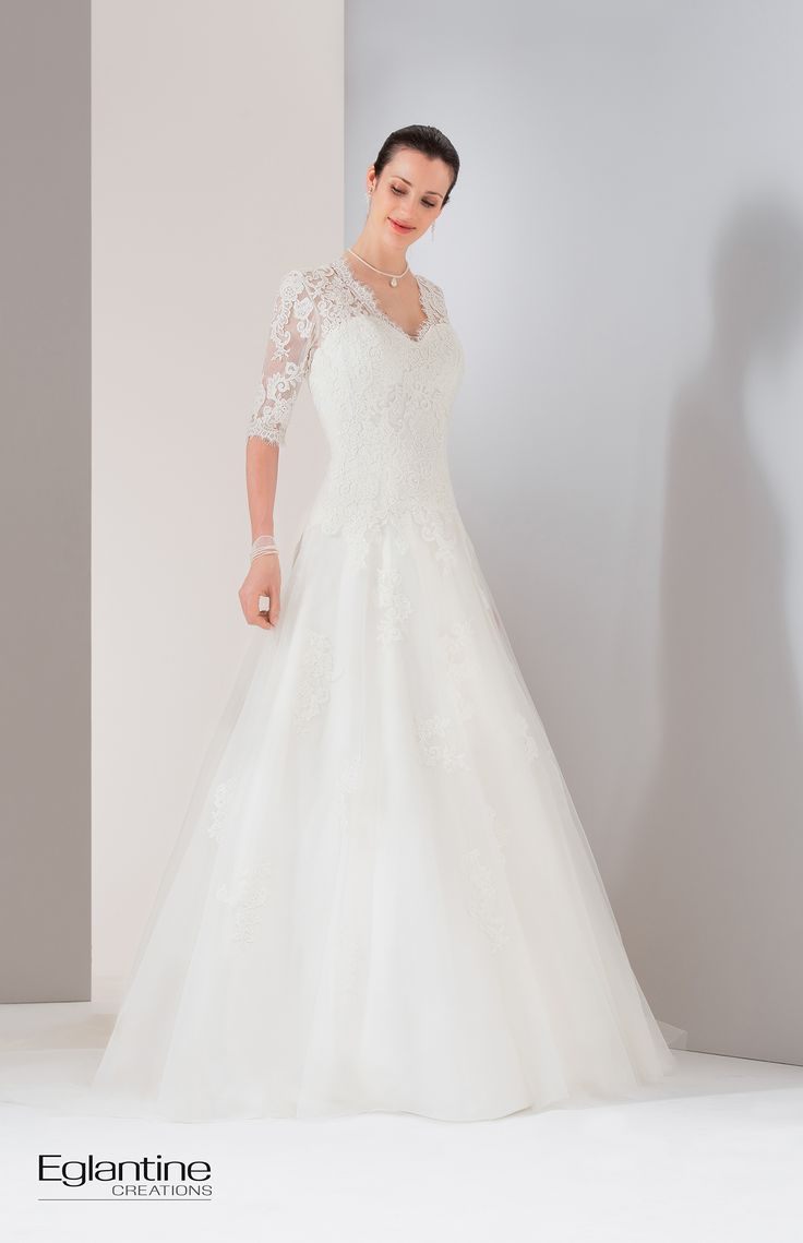 35 best robes mariée images on Pinterest | Gown wedding, Getting ...