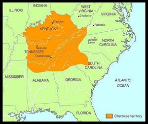 Cherokee Indians Territory