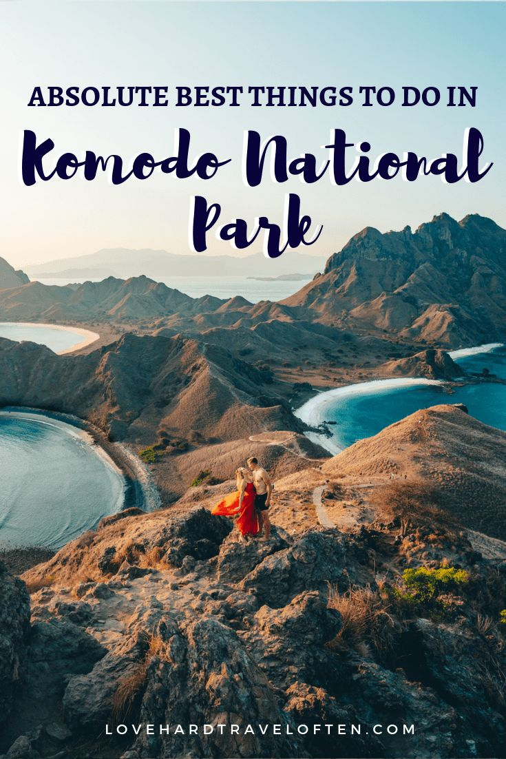 Absolute BEST things to do in Komodo National Park…