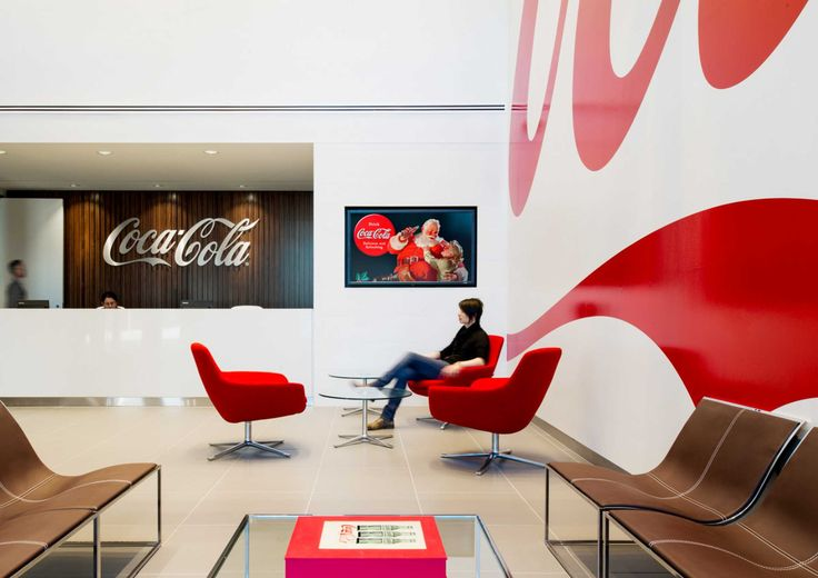 Coca Cola's Stunning Offices In Toronto.