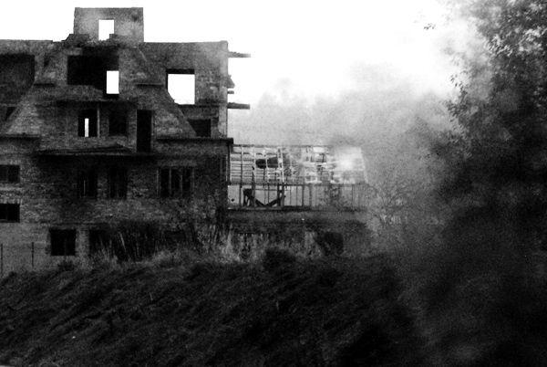 verlaten huis - spook huis