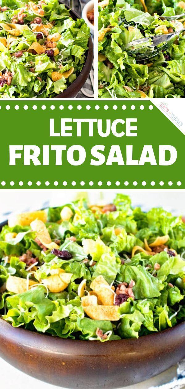 A hearty winter salad recipe for a crowd! Lettuce Frito ...