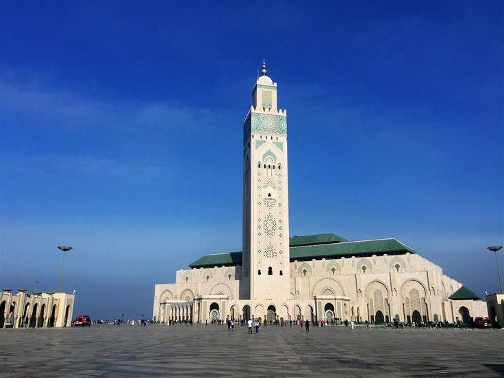 Hassan II. Mosque, Casablanca, Marocco