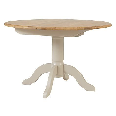 Buy John Lewis Regent Round 4-6 Seater Extending Dining Table Online at johnlewis.com