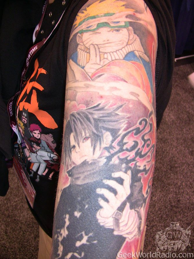 anime tattoos Geek World Photos Tattoos Are Art Too