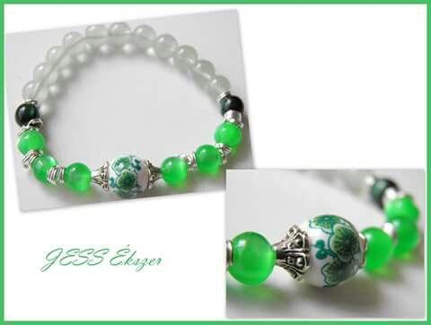Zöld és kerámia