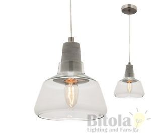 MERCATOR-LAYA-SMALL-GLASS-CEILING-PENDANT-LIGHT-W-CONCRETE-MG6531S-CEMENT-CLEAR