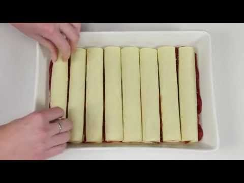 How to make cannelloni - YouTube