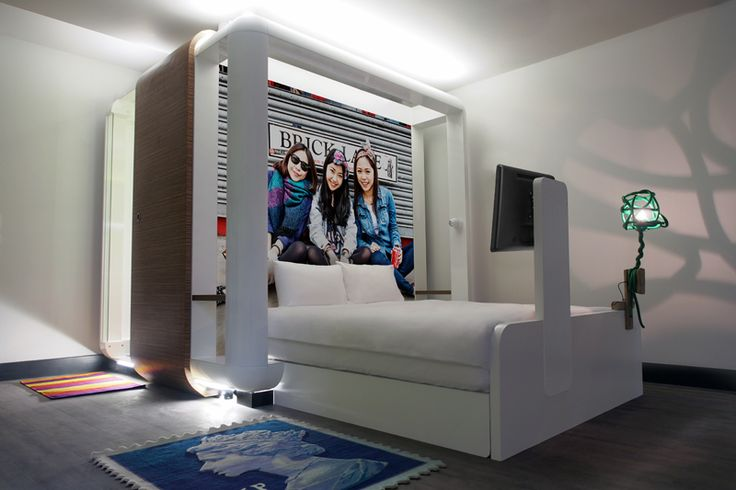 Qbic London City Hotel Rooms