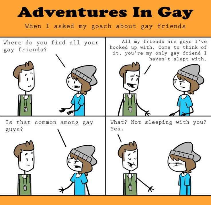 How to find a gay guy friend