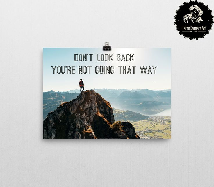 If you need a little reminder... #motivationalpictures #motivationalquotes #RetroCameraArt