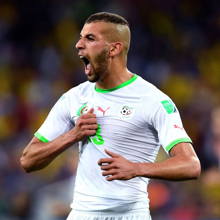 Islam Slimani netted twice in the second half to save a 2-2 draw for Algeria away at Tanzania.
