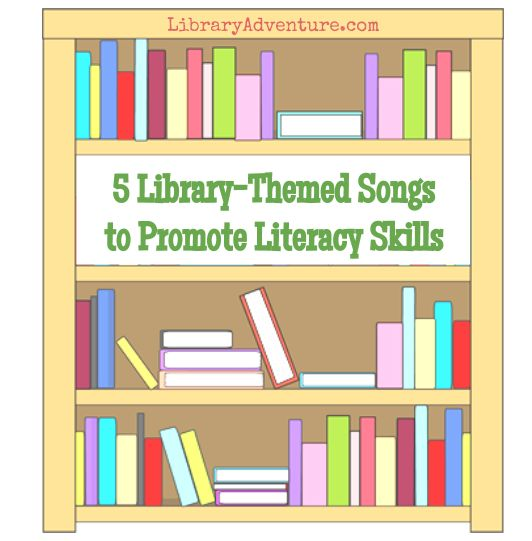 National Library Week is April 10-16, 2016. To celebrate, share some of these wonderful songs about books, libraries, and reading with the preschoolers in your life! Not only will they reinforce th…