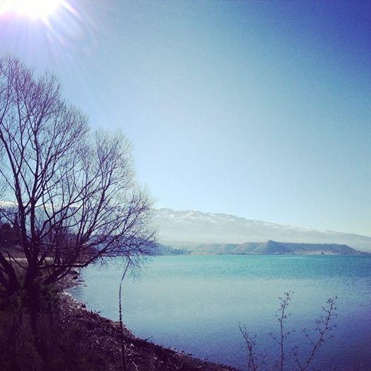 Cromwell Lake, thinking about miracles.