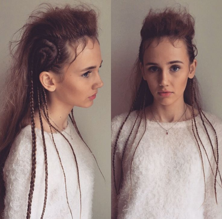 Braids braids braids #braids #updo #fashion #model #babe #kevinmurphy #norway #hair #hairinspo