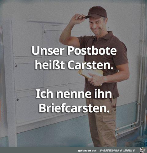 lustiges Bild 'Postbote.png'- Eine von 60154 Dateien in der Kategorie 'Lustiges' auf FUNPOT.
