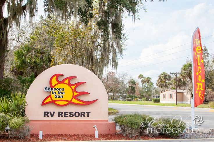 Our winter home - Seasons in the Sun RV Resort, Mims, FL
