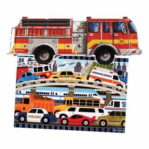 In the City Floor Puzzles Set by ConstructivePlaythings. $24.99