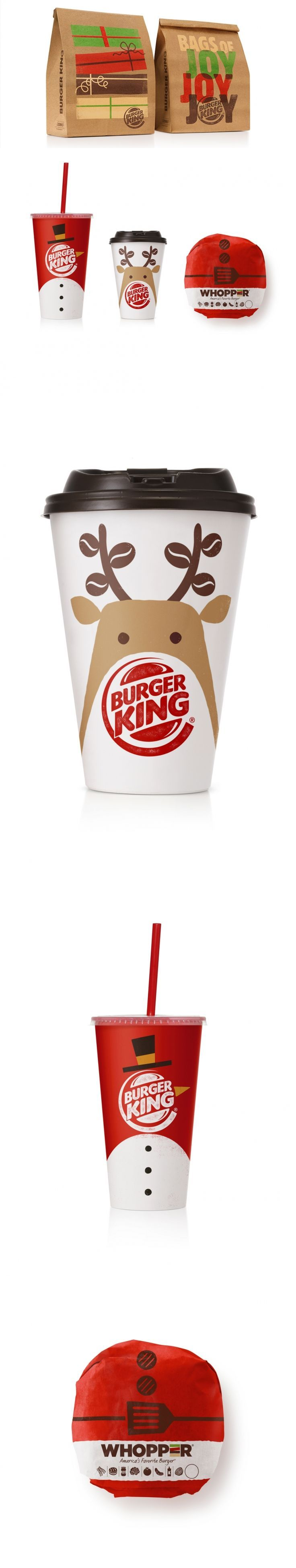 Burger King Holiday Packaging — The Dieline | Packaging & Branding Design & Innovation News