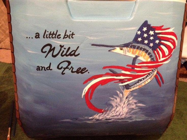 America Fish. Get your YETI cooler from Agvantage Farm! http://www.agvantagefarmandranch.com/