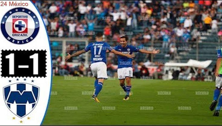 Cruz Azul vs Monterrey 1-1 Goles y Resumen Liga MX Jornada 7 Apertura 2017 HD