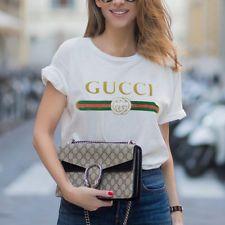 Μόδα Γυναικεία μπλουζάκια πουκάμισα Tops Γράμματα τυπωμένα σύντομο μανίκι Summer Femme