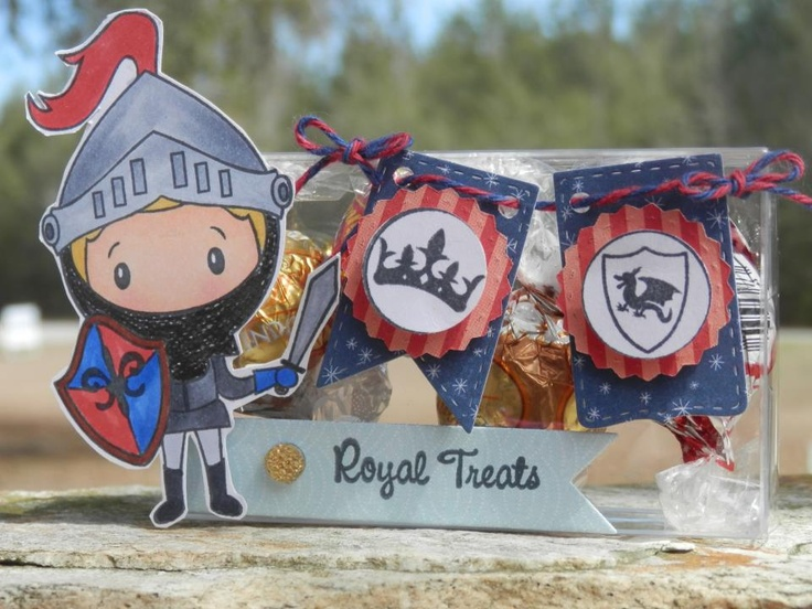 Created by Dardie using Knight Bites, Royal Candies, Candy Charms and Banner Dies, Flag Dies and favor box. http://jadedblossom.bigcartel.com/