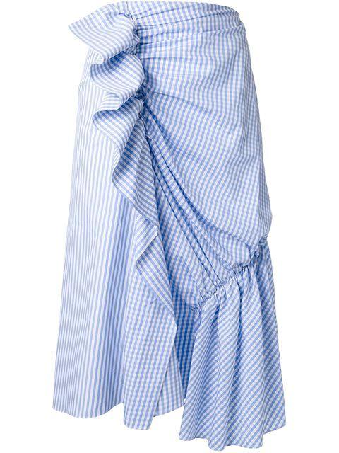 Achetez J.W.Anderson check print draped skirt en Club 21 @ Malaysia from the world's best independent boutiques at farfetch.com. Découvrez 400 boutiques à la même adresse.