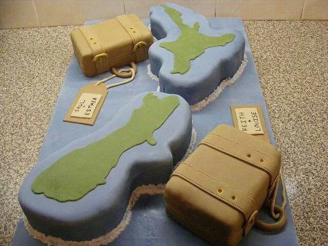 77 best ideas about Bon Voyage cake ideas on Pinterest ...