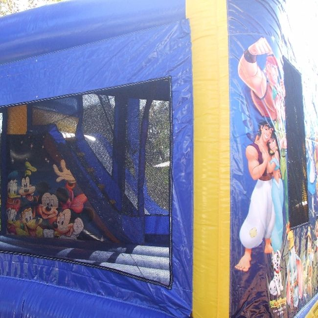 World of Disney Bouncy Castle  #disney #bouncy #inflatables #jumping #castle #toys #kids #play