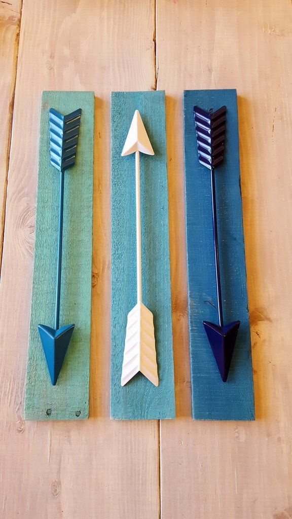 Aqua Wall Decor 37 best arrows, arrow decor, wall decor, wood art images on