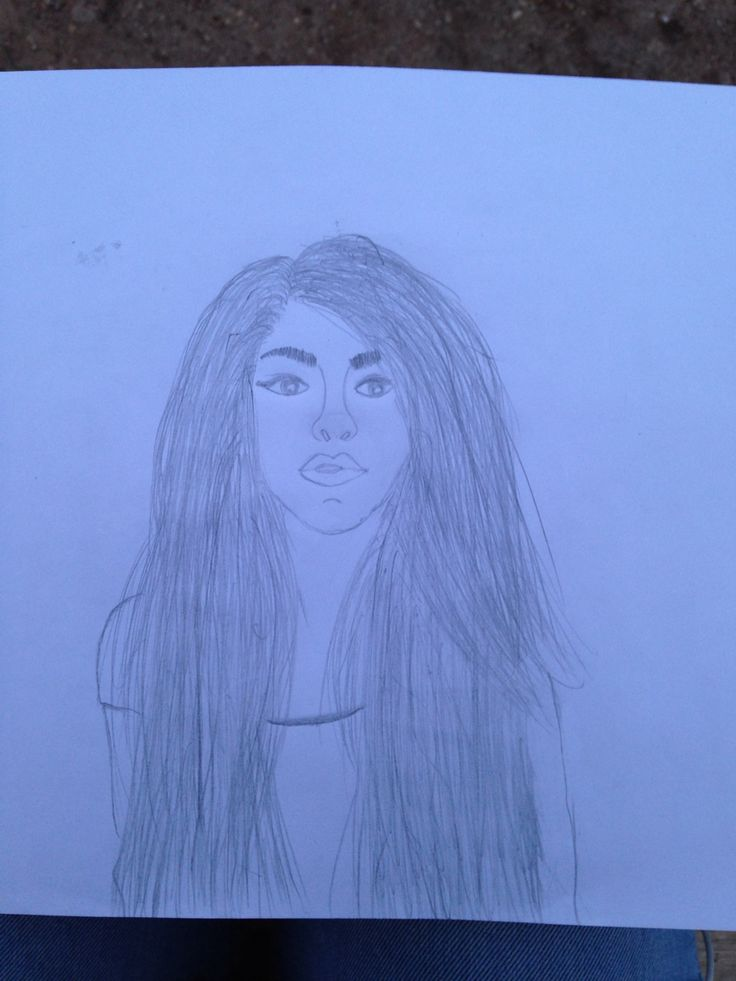 Andrea Russett drawing By: Diana Lupi