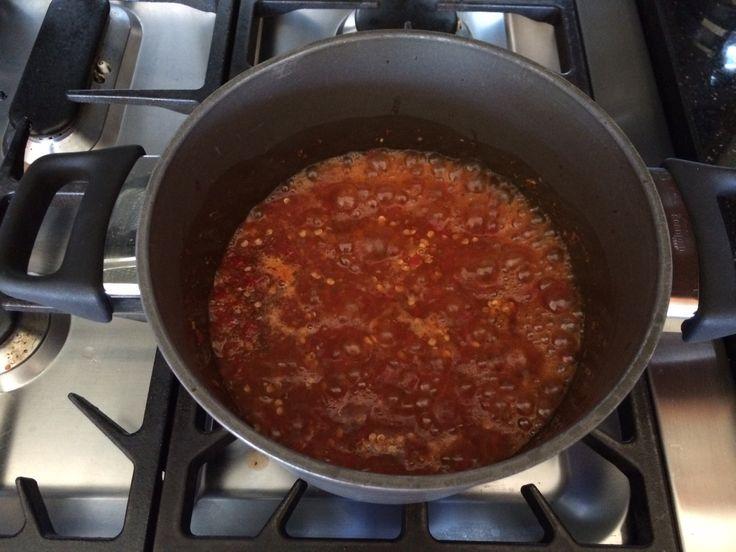 Red sambal step 2