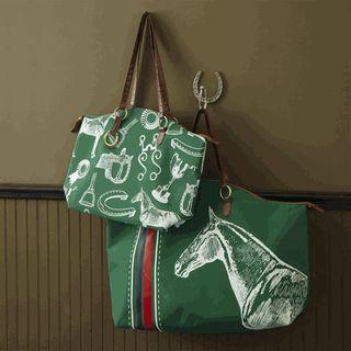 Vintage Equestrian Bag!!! $32